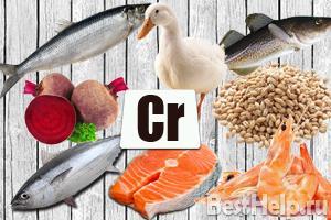 Хром витамины для чего нужны